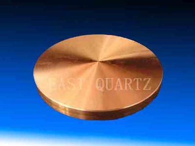 无氧纯铜圆形靶材